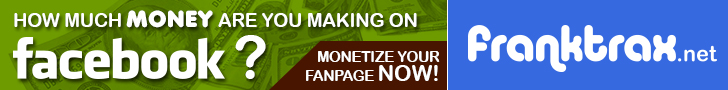 Monetize Social Media with Franktrax.net - Register Today