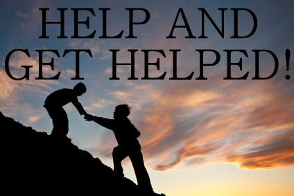 Help and get helped!